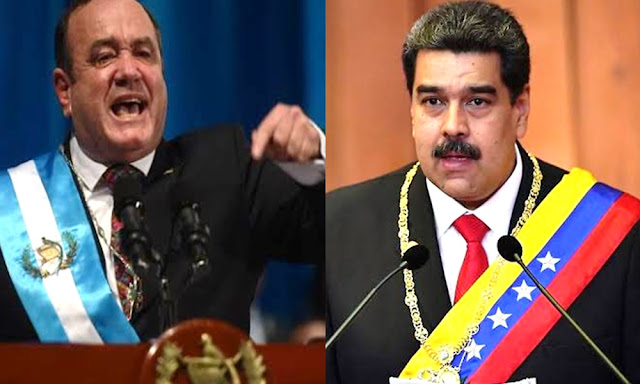 Alejandro Giammattei rompió relaciones con Venezuela