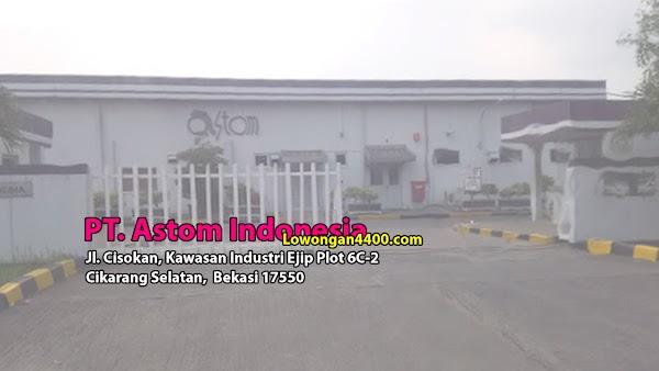 Lowongan PT Astom Indonesia Kawasan EJIP Info Loker 2019