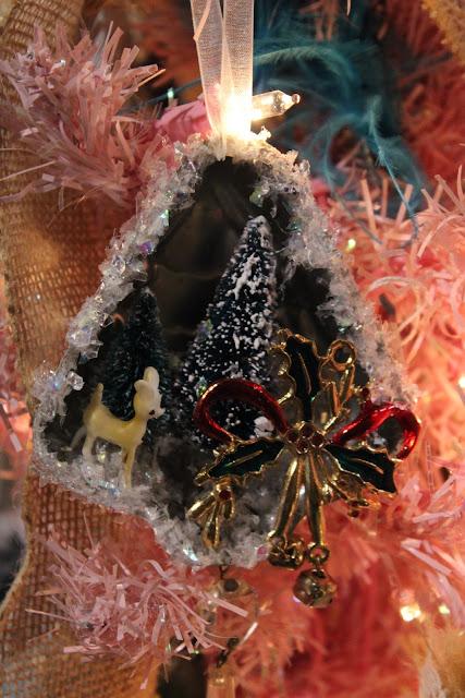 tart pan Christmas ornaments