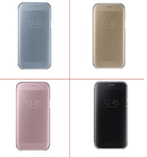 Bao da clear view Galaxy A5 2017 chính hãng samsung