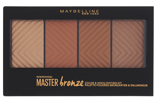 maybelline master bronze palette review