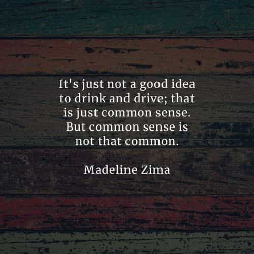 Common sense quotes and sayings from famous people