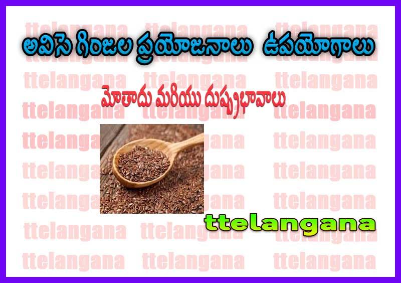 అవిసె గింజల ప్రయోజనాలు, ఉపయోగాలు, మోతాదు మరియు దుష్ప్రభావాలు