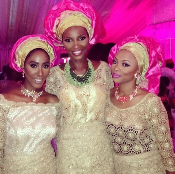 tiwa savage traditional wedding pictures