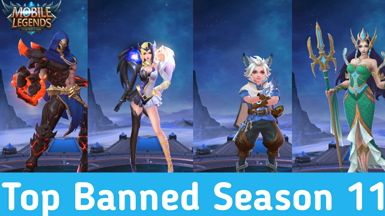 Top Banned Season 11+ Mobile Legends 1