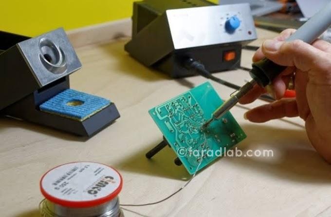Soldering Iron Set - Bangla