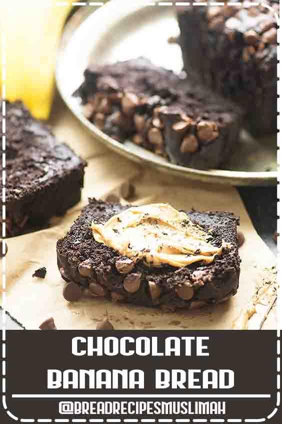 The best banana bread recipe yet! #banana #chocolate #recipe #sweet #bread #recipes #desserts #chocolate #chips