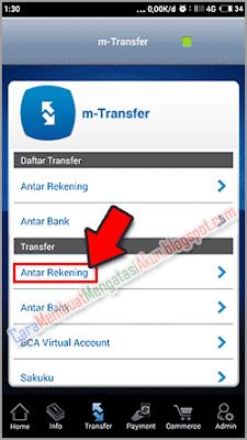 cara transfer uang lewat hp bank bca