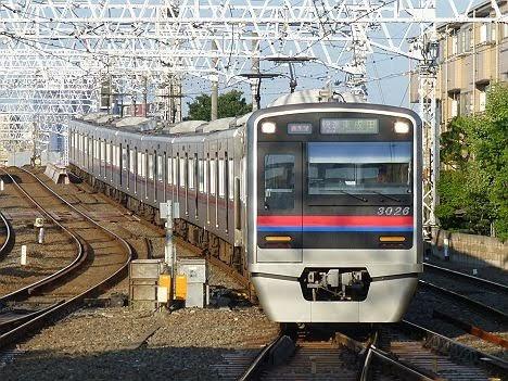 京成電鉄 快速 東成田行き1 3000形(2019.10消滅)