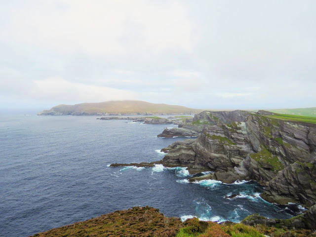 Kerry Cliffs on a day trip from Waterville Ireland