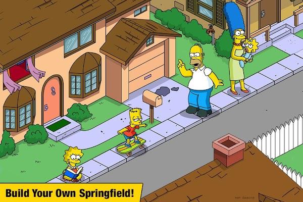 The Simpsons Tapped Out v 4.45.0 MOD APK (MEGA MOD)