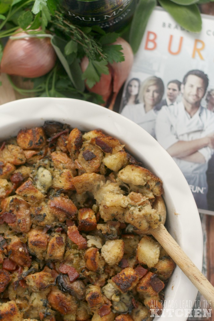 Oyster Stuffing (or Dressing) | Burnt #FoodnFlix