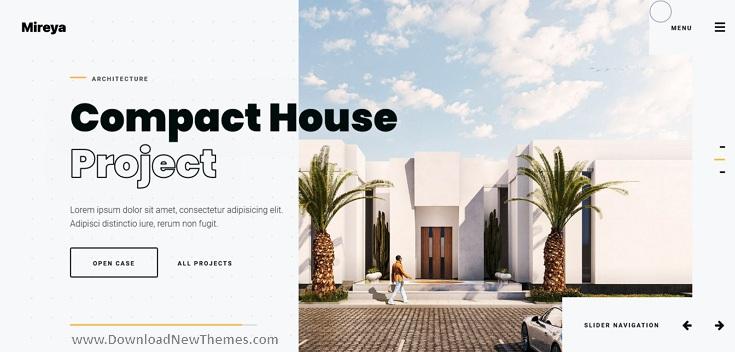 Architect & Interior Designer Theme
