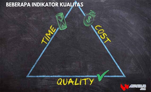Beberapa Indikator Kualitas