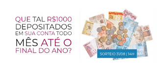 Cadastrar Promoção Dinheiro na Conta Dumont  Mil Reais Até Final Ano 2020 - Dumont FM