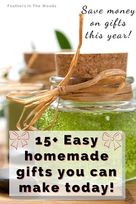 Homemade air freshener gels and other gifts, recipe