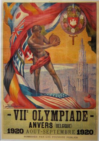 Jocs Olímpics, JJOO,  Anvers 1920, Amberes