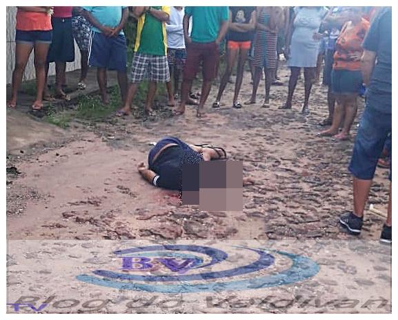 Homem é assassinado a tiros no bairro novo castelo, em Chapadinha