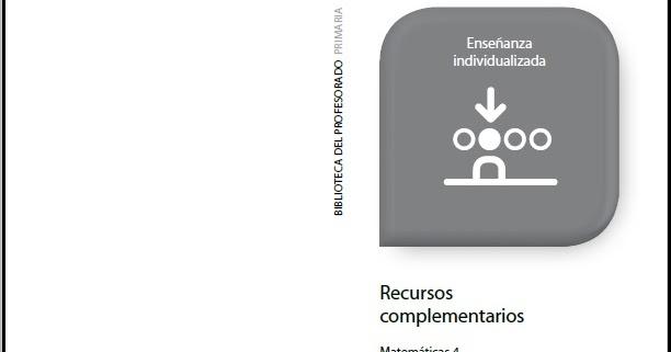 Colegio José Calderón: Recursos complementarios 4º E. primaria ...