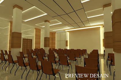 Jasa Desain Ballroom Multifungsi Hotel Mewah Harga Murah