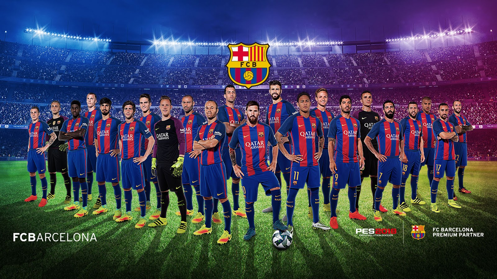 pro evolution soccer pes 2018 wallpapers read games reviews