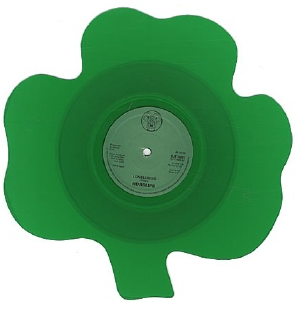 Shamrock Shaped Vinyl