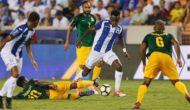 Guyana Francesa empató 0-0 ante una Honduras decepcionante en la Copa de Oro 2017