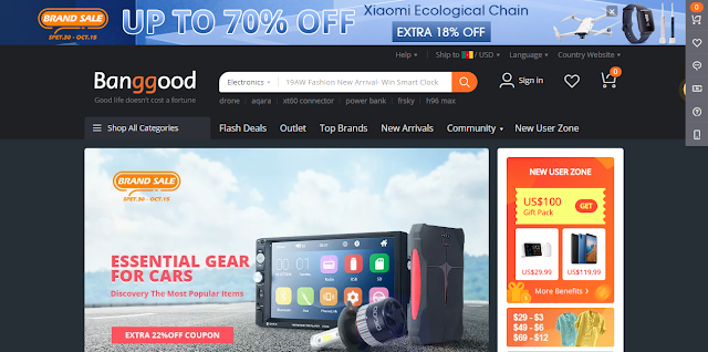 Banggood: Top 5 Chinese shopping sites