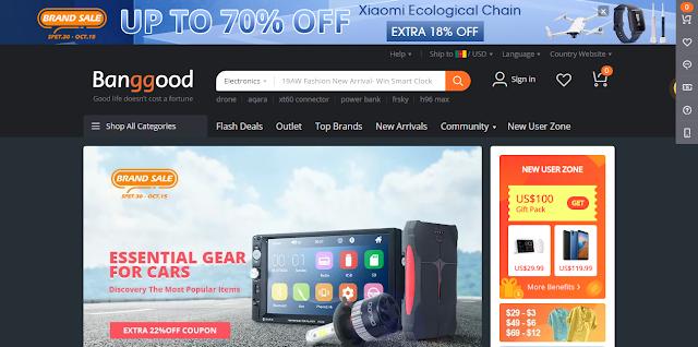 Banggood: Top 5 Chinese shopping sites