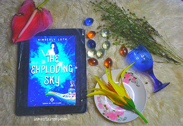The Exploding Sky (Sons of Sand #4) by Kimberly Loth | ARC | A Book Review by iamnotabookworm!
