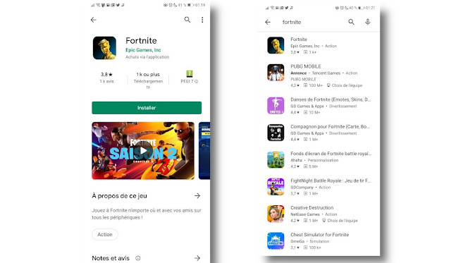 fortnite play store | تحميل فورت نايت للاجهزة الغير مدعومة برابط مباشر تحميل لعبة Fortnite 2021 للاندرويد APK