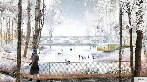 L'environnement urbain dans l'esprit scandinave est rationnel et esthétique