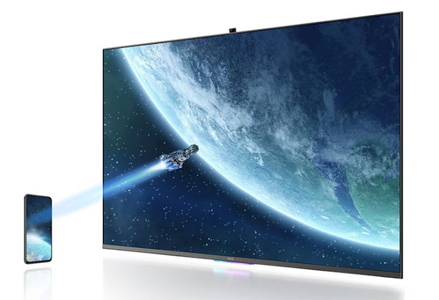 Huawei's honor vision 55 inch 4k hdr tv