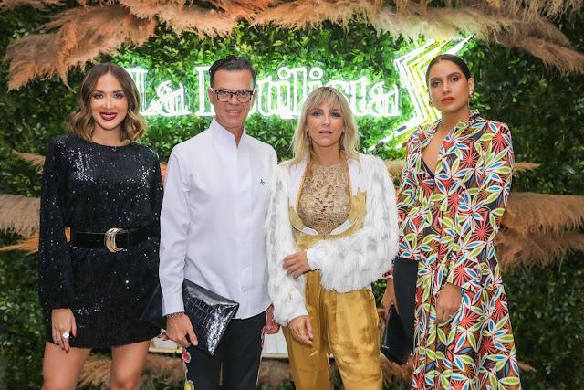 Gabriela Desangles, Sócrates Mackinney, Deborah Karter y Dawilda Gónzalez