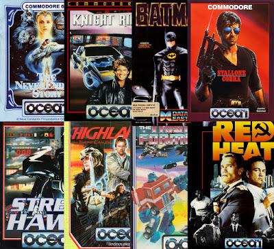 giochi Ocean tratti da film e serie TV - parte I (1985-1989)