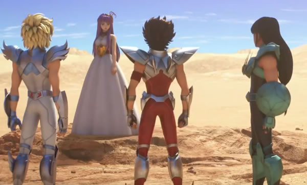 Knights of the Zodiac Saint Seiya Episodio 05