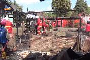 4 Rumah Ludes Terbakar Akibat Konsleting Listrik