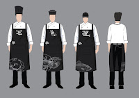baju seragam cafe