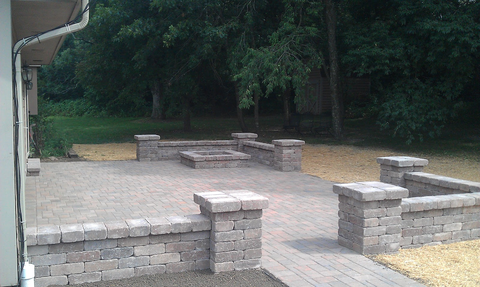 Grading, Landscaping, Paver Patios, Retaining Walls and ... on Patio Block Wall Ideas id=68413