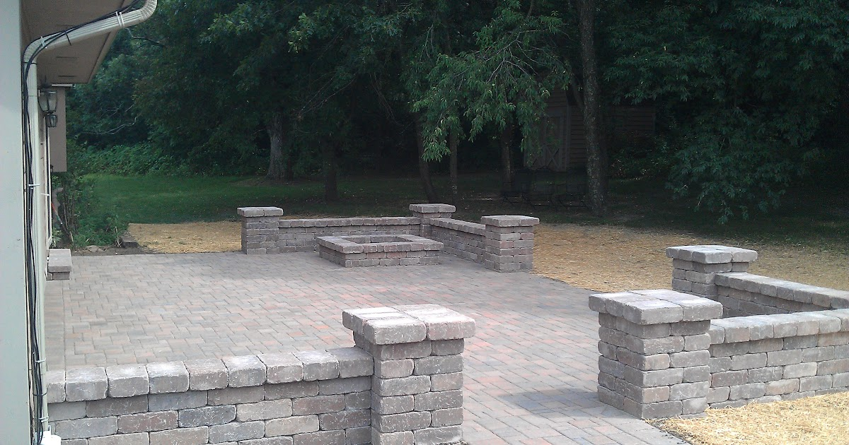 Grading, Landscaping, Paver Patios, Retaining Walls and ... on Patio Stone Wall Ideas id=84741