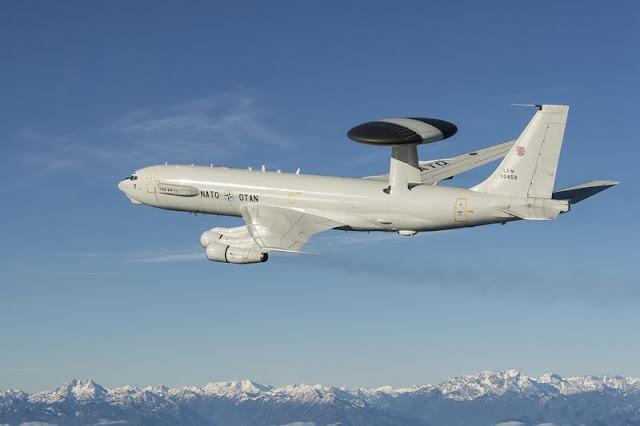 Leonardo upgrade NATO E3A AWACS