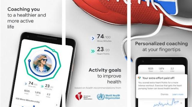 Aplikasi olahraga lari