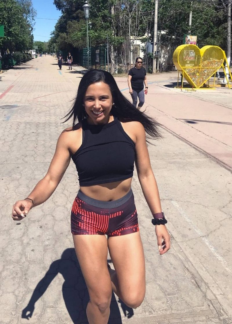Carla Muñoz, 12 del mundo en racquetball