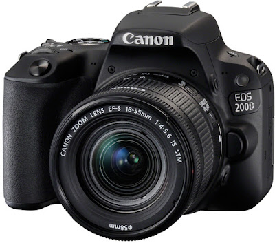 Canon 100D vs 200D DSLR Comparison