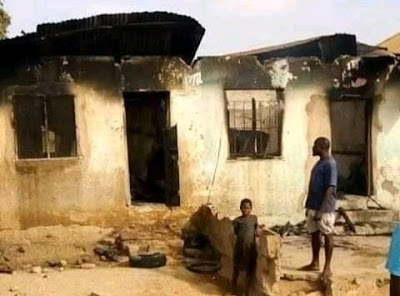 Lady Sets Boyfriend Ablaze For Refusing To Marry Her In Benue (Photos)