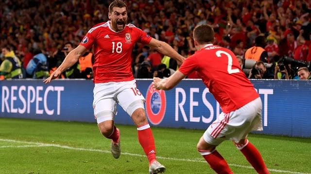 Wales 3-1 Belgia : Geliat Sang Naga Merah