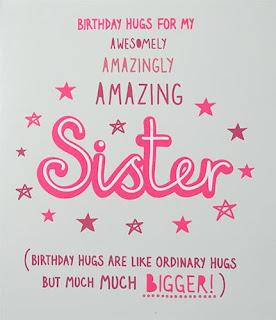 Birthday Status For Sister