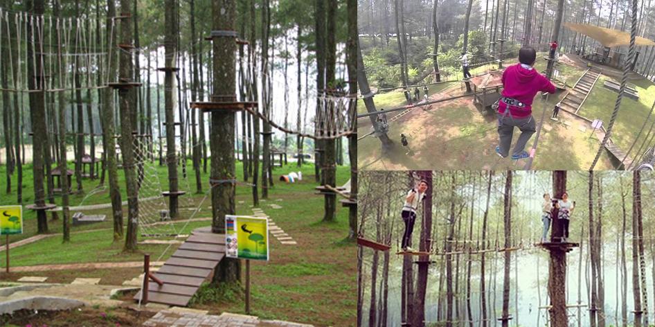 Bandung Treetop Adventure Park Cikole Lembang
