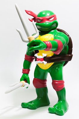 RealxHead Teenage Mutant Ninja Turtles Vinyl Figure Collection by Unbox Industries - Raphael