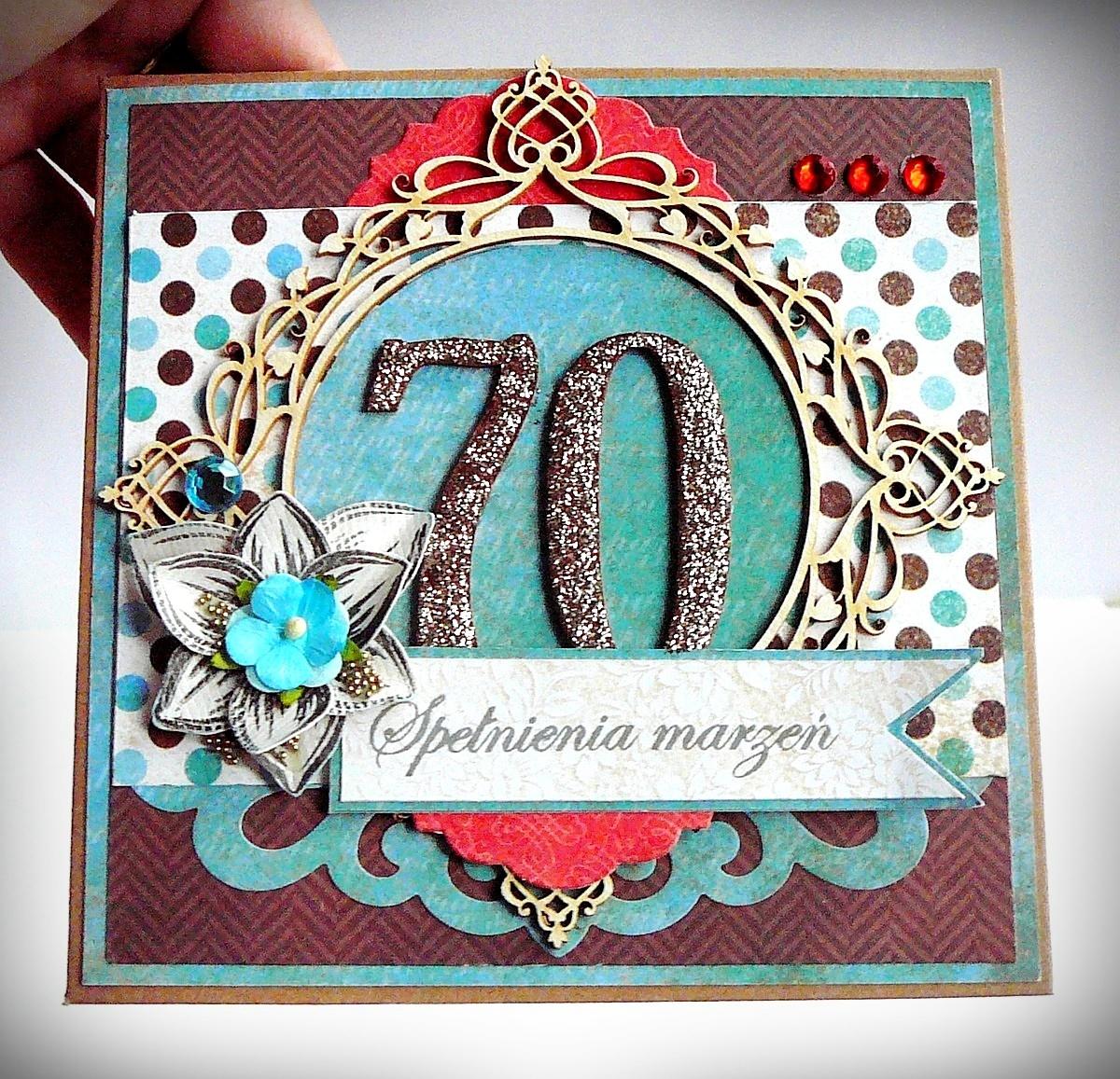 kartka na 70 lat